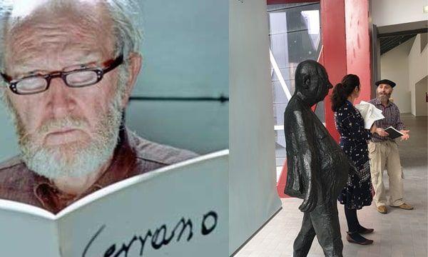 Visita «Pablo Serrano, un hombre de palabra»