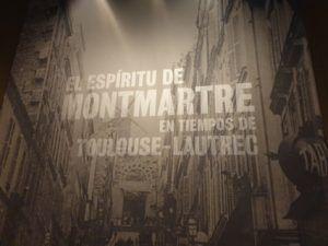 """Exposición """"El espíritu de Montmartre en tiempos de Toulouse-Lautrec"""" Mis palabras con Letras 2"""